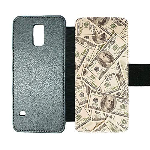 Babu Building Kartenschlitz Buch Stil Abdeckungen Womon Mit Cash Auf Samsung Galaxy S5 Anders (Galaxy Kitty Hello Case 5 Flip)