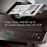 Samsung ProXpress M3870FW Laser Multifunction Printer - Monochrome - Plain Paper Print - Desktop - Copier/Fax/Printer/Scanner - 40 ppm Mono Print - 1200 x 1200 DPI Print - 40 CPM Mono Copy LCD