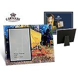 Carmani - Fotografia di vetro Telaio, Ritratto, Immagine, Disegno, Picture, Paesaggio Telai di Van Gogh 'Café Terrace di notte'