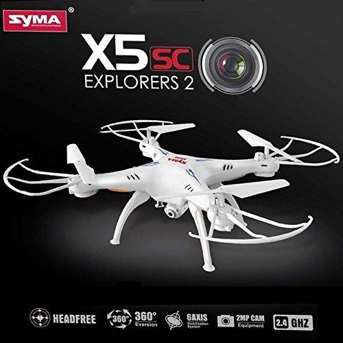 Drone-Quadricoptre-SYMA-X5SC-1-avec-CAMRA-VIDO-HD-2MP-Nouvelle-version-2015-du-modle-X5C