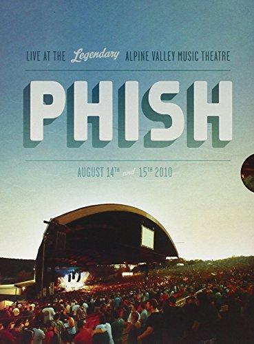 Alpine Valley 2010 (2xCD + 2xDVD) by Phish (2010-12-14) (Phish Alpine Valley 2010)