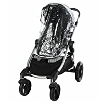 Baby Jogger CITY SELECT & VERSA Stroller & Carrycot (Single) Raincover Weather Shield zipped Rain Cover