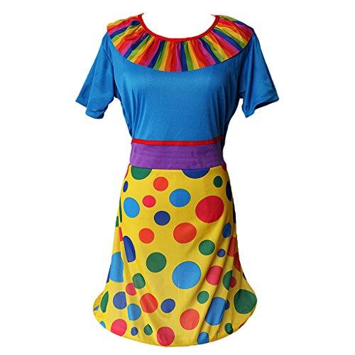 Komödie Clown Kostüm für Damen ()