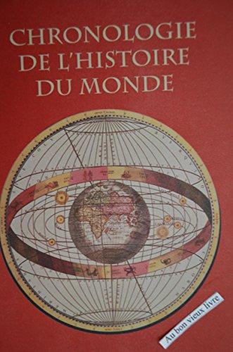 Chronologie de l'histoire du monde