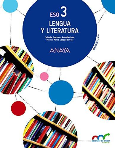 Aprender es Crecer en Conexión, lengua y literatura, 3 ESO por Salvador . . . [et al. ] Gutiérrez Ordóñez