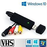 Tech stor3–USB 2.0Audio/Video Grabber | Neue Version/Neue Software (Kompatibel mit Windows 8) | Adapter Video VHS für die Änderungen und die Ausarbeitung