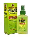 Mosquito Guard Repellent Spray (4 FL Oz) hergestellt mit 100 % alle natürliche pflanzliche Inhaltsstoffe - Citronella, Zitronengras Öl, ungiftig