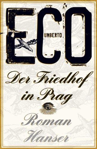 Buchseite und Rezensionen zu 'Der Friedhof in Prag: Roman' von Umberto Eco
