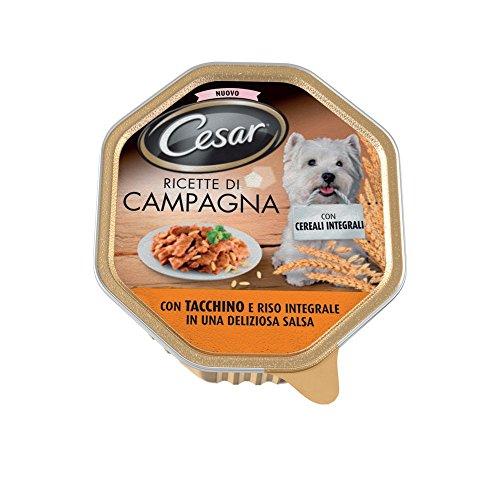 Cesar 150 gr ricette campagna tacchino e riso integrale ricette di campagna pollo selvaggina e verdurine