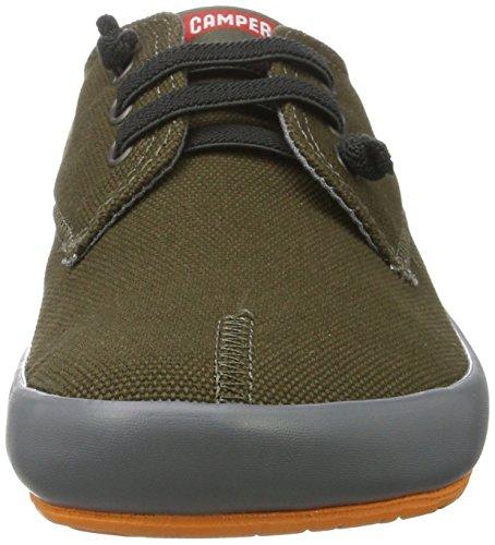 CAMPER Herren Peu Rambla Vulcanizado Sneakers Grün (Dark Green 027)
