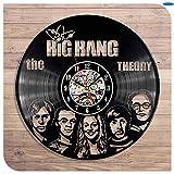 The Big Bang Theory Black Vinyl CD 12,6Bestes Geschenk für Freunde, Männer und Jungen - Gewinnen Sie einen Preis für Feedback