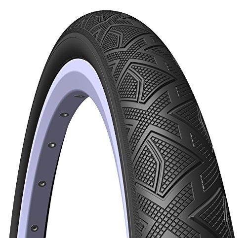 MITAS (Rubena) Dom BMX Sport Level Reifen, 20x 1,60(44–406), schwarz (Paar von Reifen)