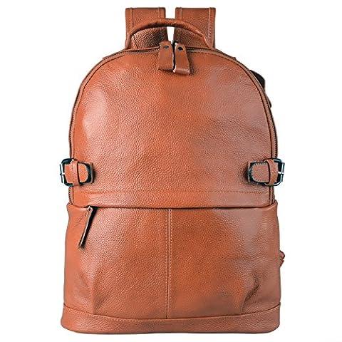 AB Earth sacs à dos en cuir homme femme sac ordinateur voyage loisir M752