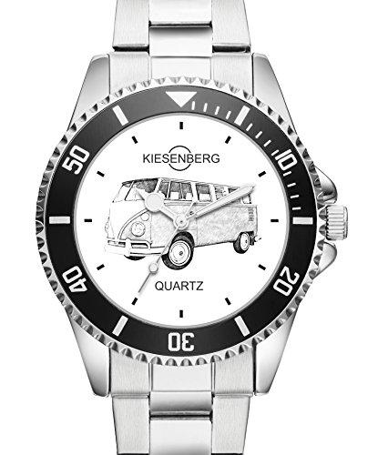 Geschenk für VW T1 Oldtimer Fans Fahrer Kiesenberg Uhr 20030