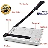 innerbit™ Heavy Duty Professional Magnetic A4 Paper Cutter Guillotine Paper Trimmer (A4, B5, A5, B6, B7) (White)