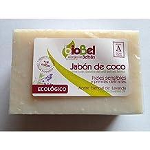 BioBel Jabón Pastilla Coco Eco - 4 Paquetes de 240 gr - Total: ...