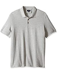 Armani Jeans Men's Solid Short-Sleeve Polo Shirt