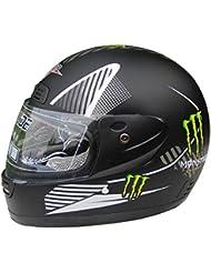 Casco de la motocicleta del coche eléctrico del casco de casco de moto Cascos Niebla del casco con el collar caliente ( Color : Negro )