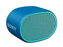 SRS-XB01 Speaker Wireless Portatile con Extra Bass, Resistente all'Acqua, Bluetooth, Blu