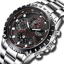 Reloj masculino, deportivo, a cuarzo, de lujo, para empresarios, Impermeable,