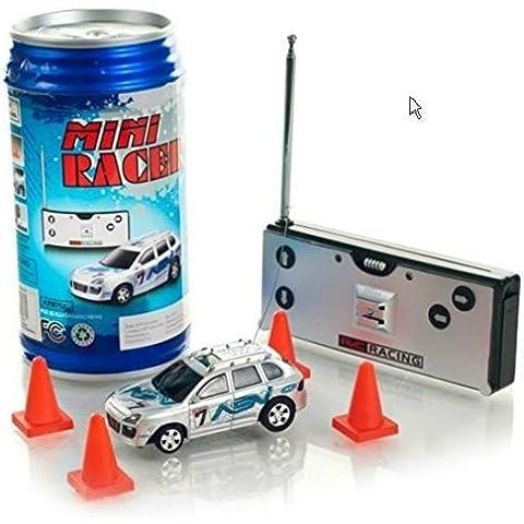 Mini Racer Coke Can Radio Remote Control Micro Mini Racing Car in BLUE by MTG Inc