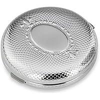 Pillendose Filigran rund 3 Fächer 6x2 cm Silber Plated versilbert in Premium Verarbeitung preisvergleich bei billige-tabletten.eu