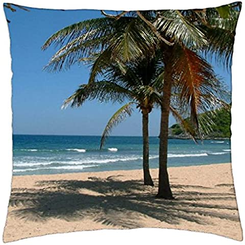 "Shady Spot. - Throw Pillow Cover Case (18"" x 18"")"