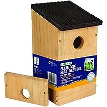 Gardman A04381caja nido múltiple madera natural 13,5X 13,5X 24cm