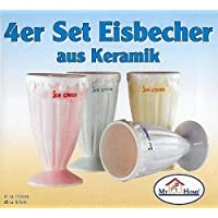 4er Set Eisbecher