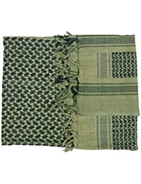 Web-Tex WSHEMGB Shemagh Scarf, Olive