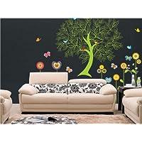 N1039 ÁRBOL Y AVES DE ARTE ETIQUETA - Wall decoración gráficos de bricolaje, decoración de