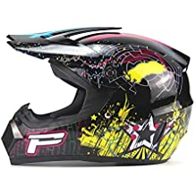 SHOW ATV Cascos Todo Terreno-Casco Moto Integral Ligero para Mujer Hombre Chica Motocicleta Vespa