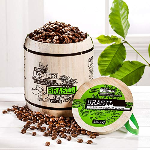 Kaffee Brasil Hochland im Holzfass 250g