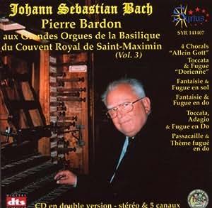 Pierre Bardon aux Grandes orgues de la basilique du couvent royal de St Maximin vl 3