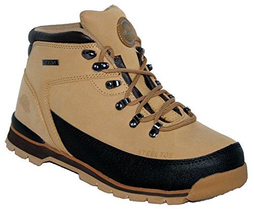 Groundwork GR86 S, Chaussures de sécurité mixte adulte Beige - Beige (Miele)