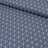 MAGAM-Stoffe ''Noah - Dreiecke'' in 4 Farben | Jersey-Stoff