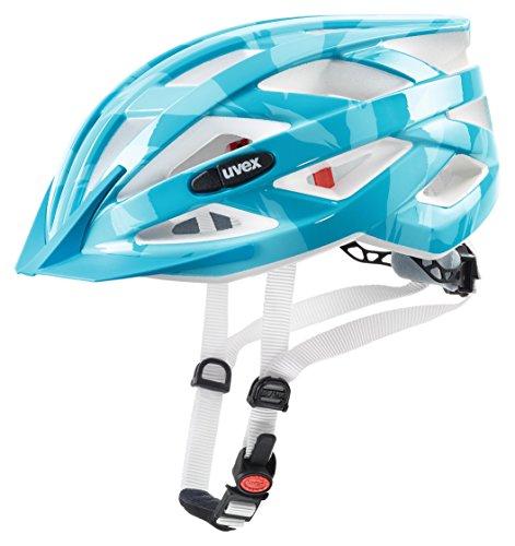 Uvex Casco da Bicicletta per Donna i-vo c, Unisex, 4104172015, Azzurro, 52-57 cm