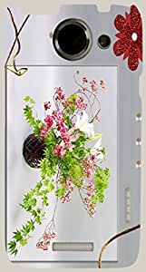 Wonderful multicolor printed protective REBEL mobile back cover for HTC One X+ ( X Plus ) D.No.N-R-2309-htcX
