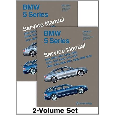 BMW 5 Series (E60, E61) Service Manual: 2004, 2005, 2006, 2007, 2008, 2009, 2010: 525i, 525xi, 528i, 528xi, 530i, 530xi, 535i, 535xi, 545i,