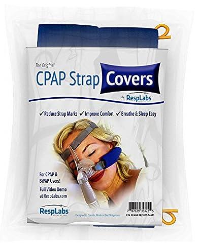 CPAP Strap Covers, Soft Comfort Cushion Pads | Cheek Pillows
