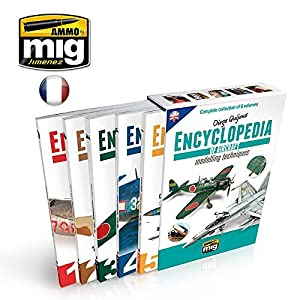 AMMO MIG-6069E - Funda para Enciclopedia de Técnicas de Modelado de Aeronaves