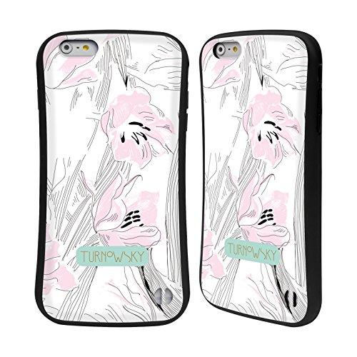 Ufficiale Turnowsky Cielo Floreale Essenza Di Bocciolo Case Ibrida per Apple iPhone 6 Plus / 6s Plus Sketch Floreali 1