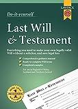 Last Will & Testament Kit (Do It Yourself Kit)