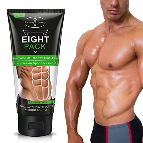 lzndeal 170G uomini donne più forte anti cellulite grasso Combustione muscolare, dimagrire Crema Anti Cellulite Creme straffen muscoli addominali muscoli Crema Anti Cellulite Anti Cellulite Olio