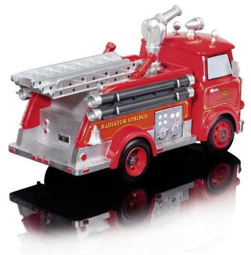RC Auto kaufen Feuerwehr Bild 2: Dickie Spielzeug 203089549 - RC Disney Cars, Red Fire Engine, 3-Kanal Funkfernsteuerung, 29 cm, rot*