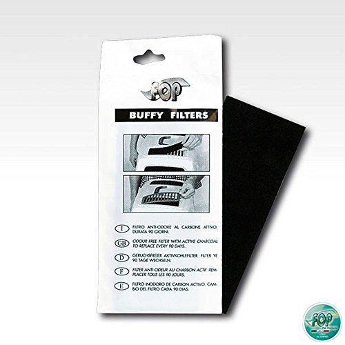 FOP Filtri antiodore al carbone attivo confezione 2 pezzi - Lettiere per gatti