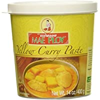 Mae Ploy Yellow Curry Paste 400 gramos - Pasta Curry Especias Amarilla