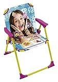 Best Disney Chaises de camping pliante - Soy Luna 711082 Chaise Pliante pour Enfants Aluminium/Tissus Review
