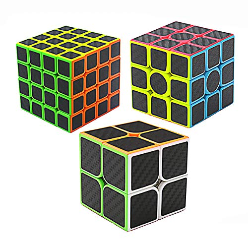 2x2 3x3 4x4, Rubix Cube Würfel Magic Speed Cube Spielzeug für Kinder ()