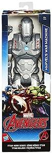 Hasbro Vengadores B6154ES0 - Titan Personaje del Héroe Máquina de Guerra, Figura de Acción